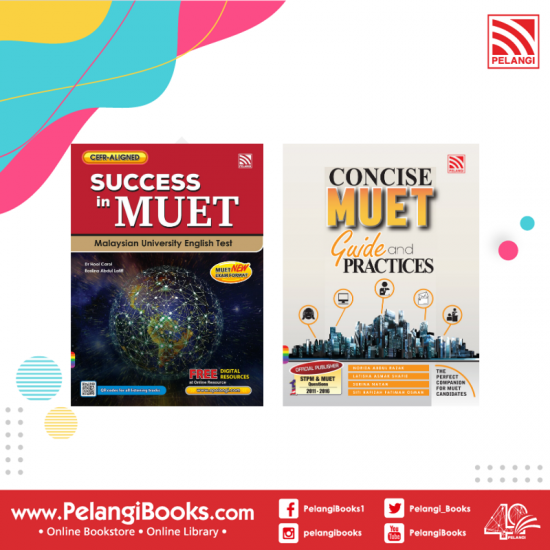 Success in MUET 2020 + Concise MUET Guide & Practices 2016 [Set]