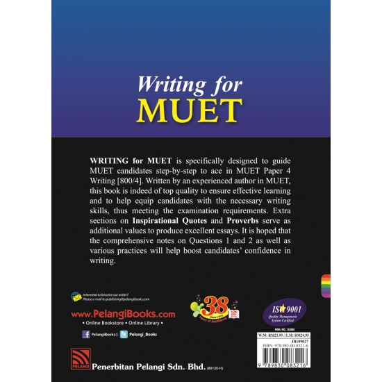 Writing For MUET 2017