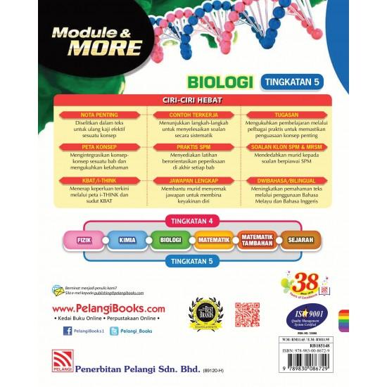 Module & More 2018 Biologi Tingkatan 5