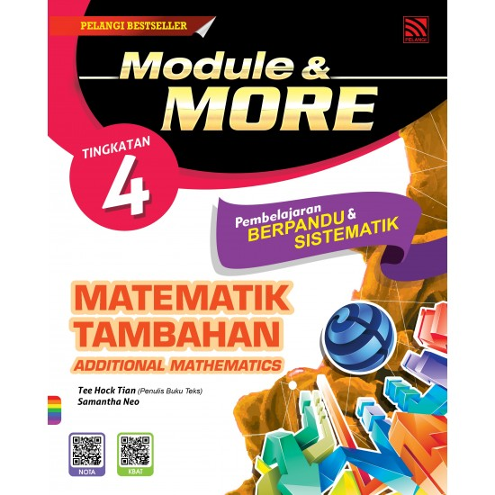 Jawapan Buku Pelangi Matematik Tambahan Tingkatan 4 Kssm