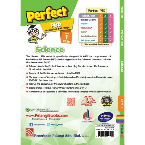 Perfect PBD KSSR 2021 Year 1 Science