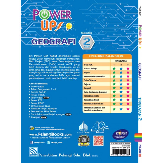 Power Up! Geografi Tingkatan 2