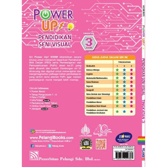 Power Up! Pendidikan Seni Visual Tingkatan 3