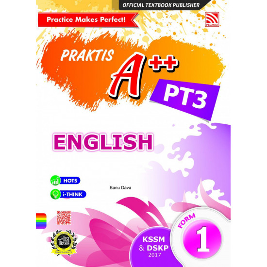 Praktis A++ 2017 English Form 1