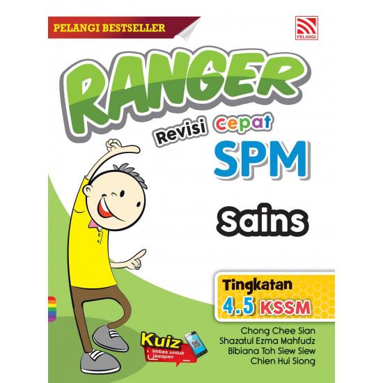 Ranger Revisi Cepat SPM 2022 Sains