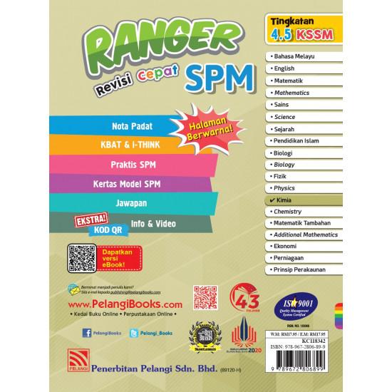 Ranger Revisi Cepat SPM 2022 Kimia