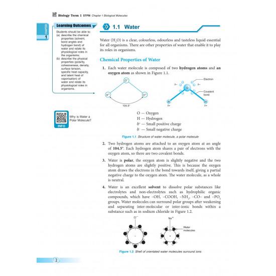 Pre-U STPM 2022 Biology Term 1
