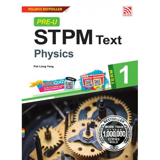 Pre-U STPM 2022 Term 1 Physics