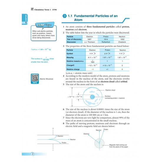 Pre-U STPM 2022 Term 1 Chemistry