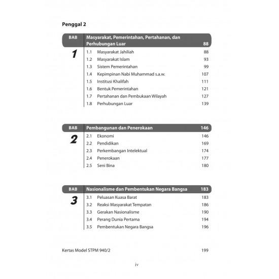 Q and A STPM 2022 Sejarah Term 1-3