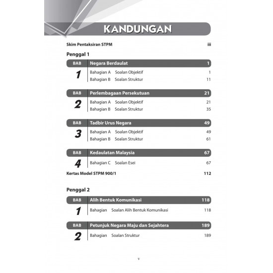 Q and A STPM 2022 Pengajian Am Penggal 1-3
