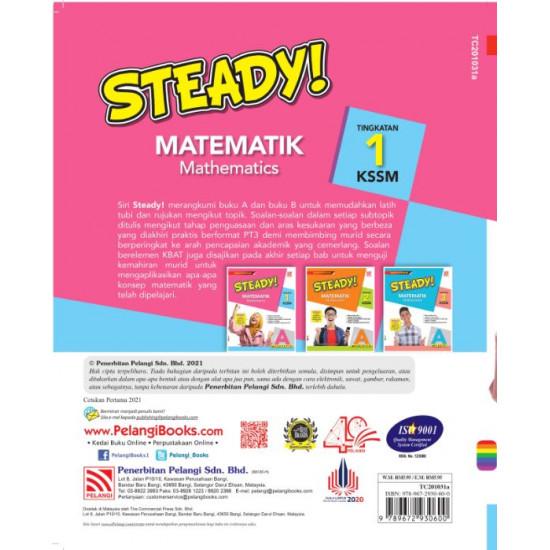 Steady! KSSM 2021 Matematik Tingkatan 1 Buku A