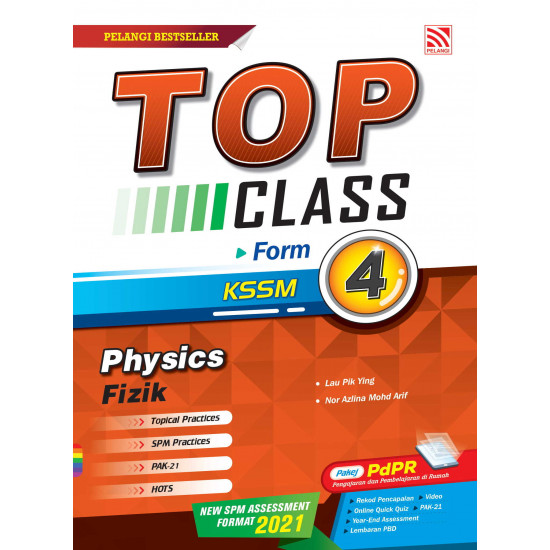 Top Class 2021 Physics Form 4