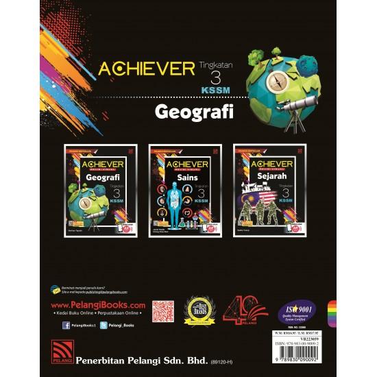 Achiever PT3 2019 Geografi Tg 3