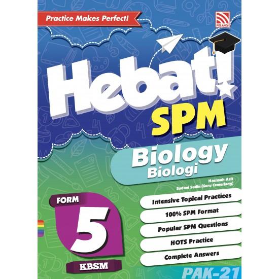 HEBAT! SPM 2019 Biology Form 5