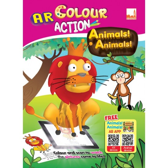 AR Colour Action- Animals! Animals!