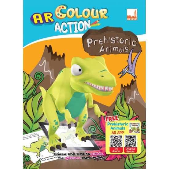 AR Colour Action (Dickens) - Preshistoric Animals