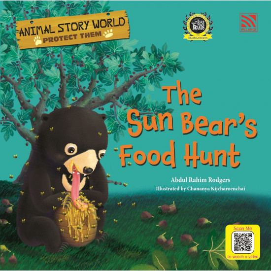Animal Story World-Protect Them (The Sun Bear's Food Hunt)