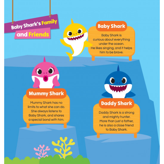 Baby Shark Storybook Series: Baby Shark and Little Pisces