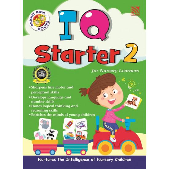 Bright Kids Books - IQ Starter 2 for Nursery Learners