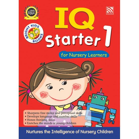BRIGHT KIDS - IQ STARTER 1 FOR NURSERY LEARNERS