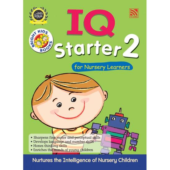 Bright Kids - IQ Starter 2 For Nursery Learners