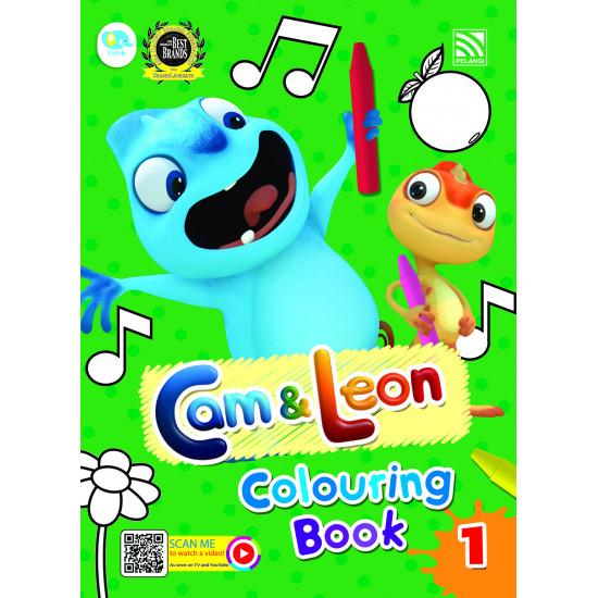 Cam & Leon - Colouring Book 1