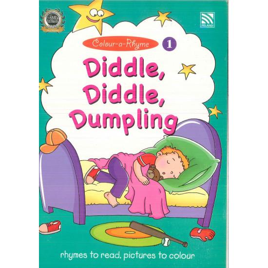 Colour-a-Rhyme 1- Diddle, Diddle, Dumpling