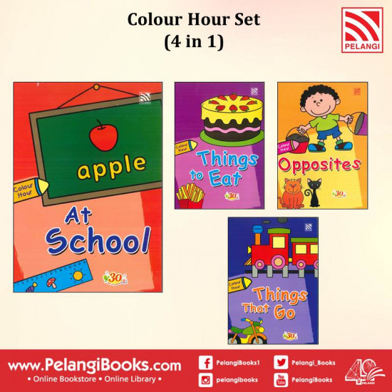 Colour Hour Set (4 in 1)