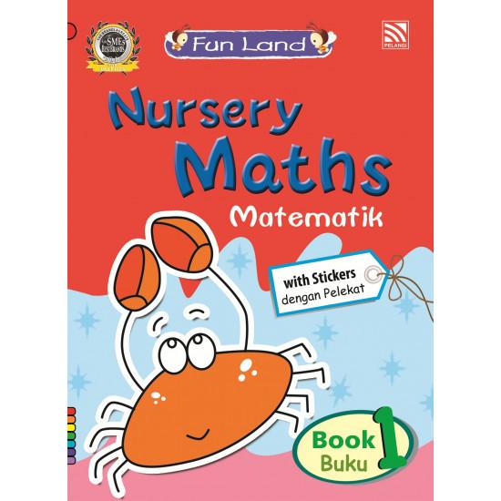 Fun Land Nursery Maths Reader Book 1 (BI-BM)