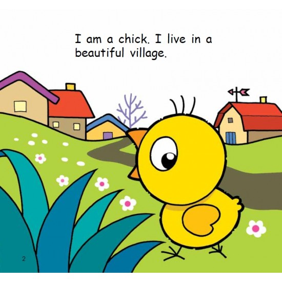 Hello Animals with Animation - Look Out, Little Chicks