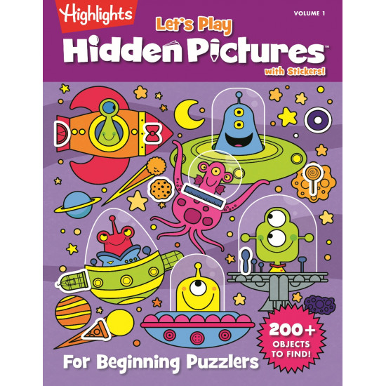 Highlight Let's Play Hidden Pictures with Stickers Vol. 1