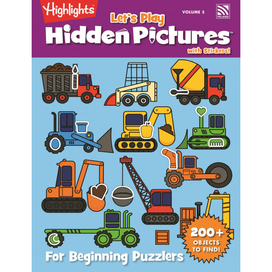 Highlight Let's Play Hidden Pictures with Stickers Vol. 5