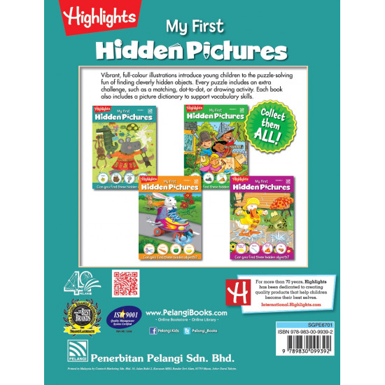 Highlights My First Hidden Pictures Vol. 1