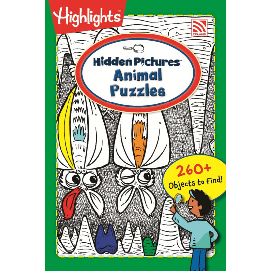 Highlights On The Go: Hidden Pictures Animal Puzzles