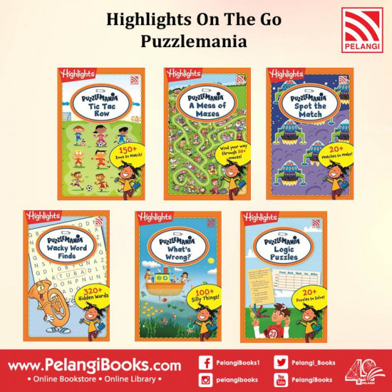 Highlights On The Go - Puzzlemania (6 in 1 Set)