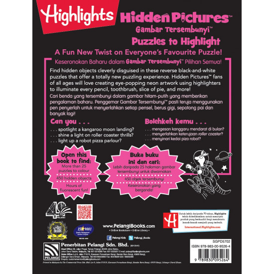 Highlights Hidden Pictures: Puzzles to Highlight Vol.2 (Eng/Malay)