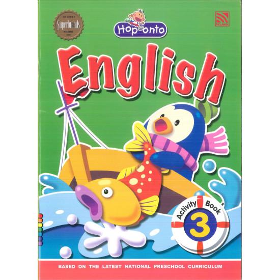 Hop Onto -English Activity Book 3