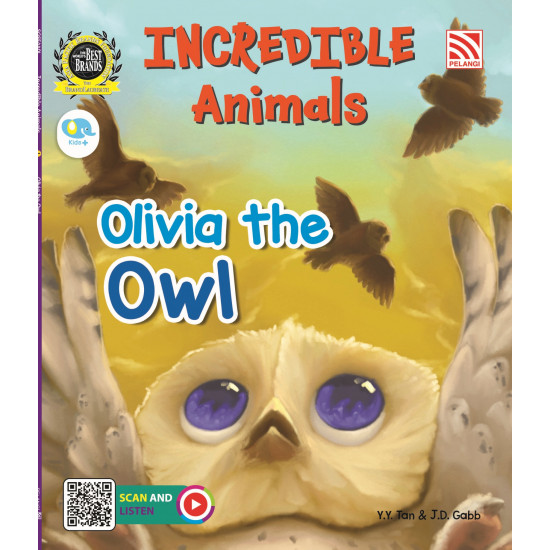Incredible Animals: Olivia The Owl