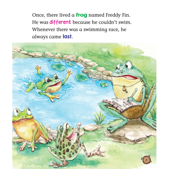 Incredible Animals: Freddy The Frog