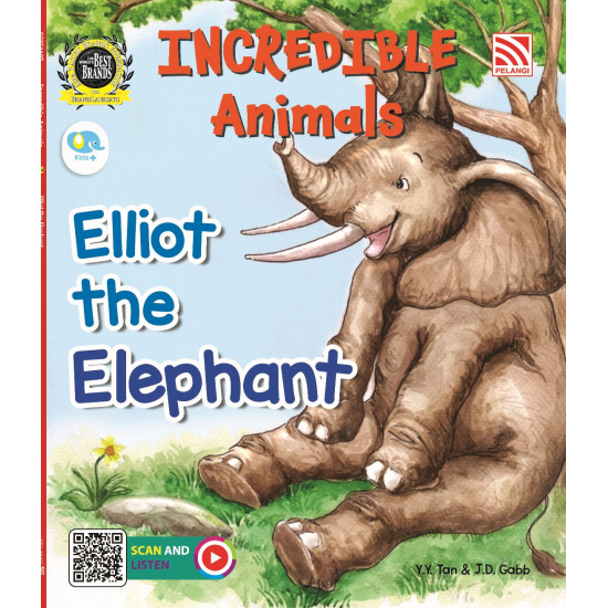 INCREDIBLE ANIMALS - ELLIOT THE ELEPHANT