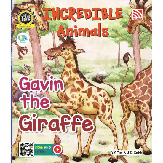 Incredible Animals: Gavin The Giraffe