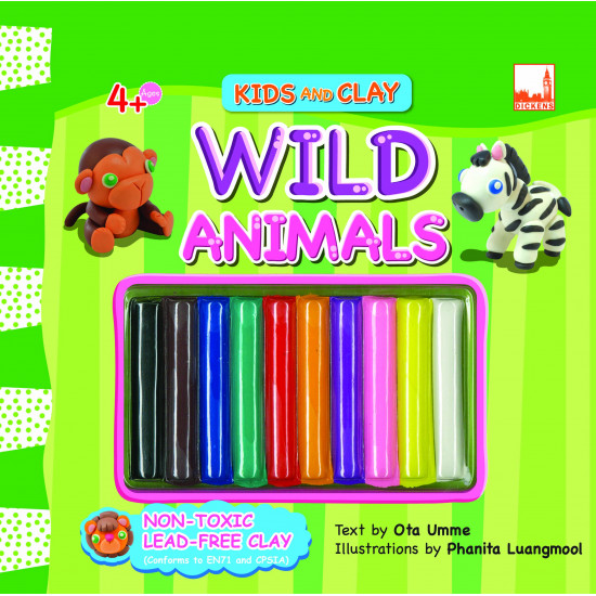 Kids And Clay Set (4 in 1)
