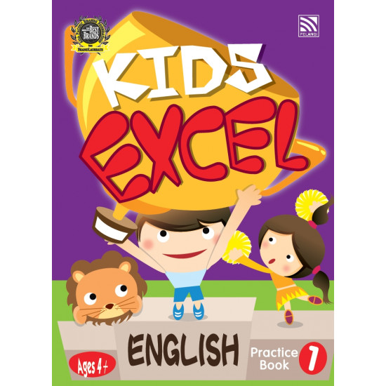 Kids Excel Series - English Practice Book 1