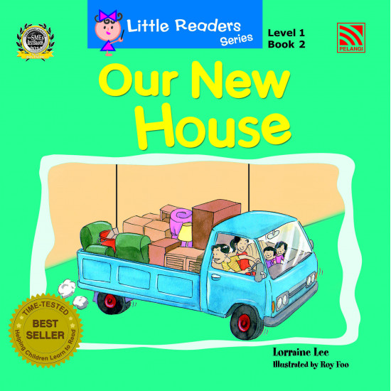 Little Readers Series Level 1: Our New House