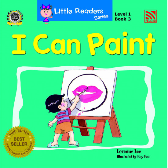 Little Readers Series (Level 1) I Can Paint