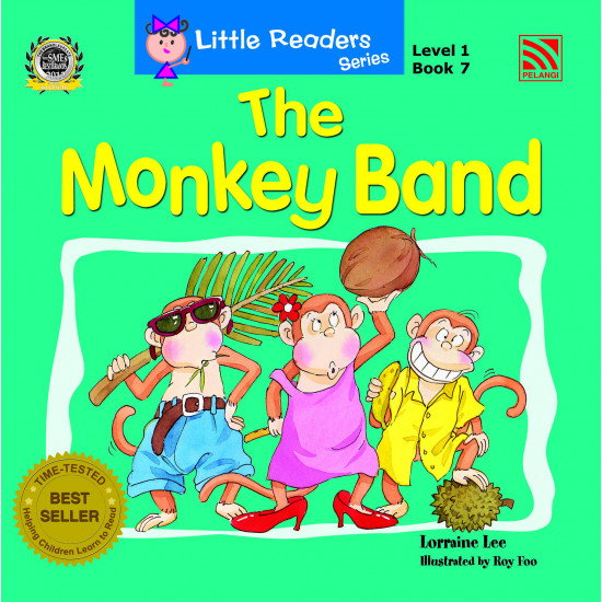 Little Readers Series (Level 1) The Monkey Band