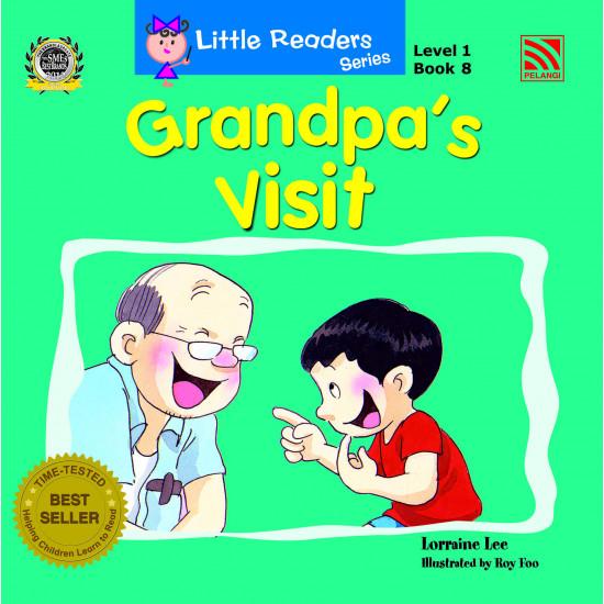 Little Readers Series Level 1: Grandpa's Visit