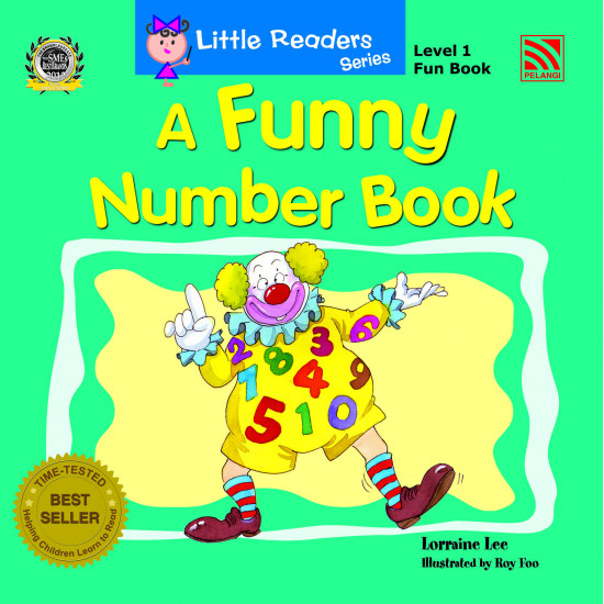 Little Readers Series (Level 1) Fun Book – A Funny Number Book