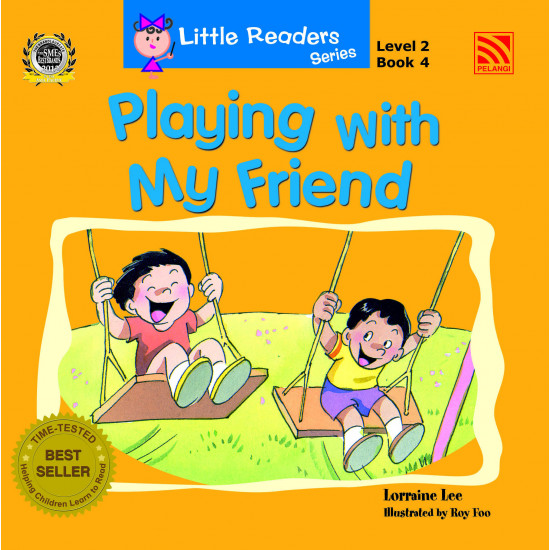 Little Readers Series Level 2:  Playing with My Friend